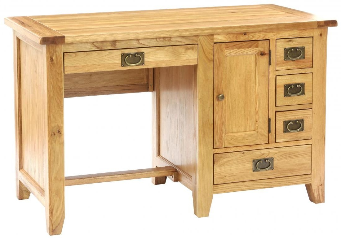 Vancouver Premium Oak Computer Desk