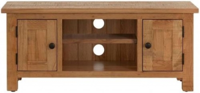 Vancouver Sawn Oak 2 Door TV Unit