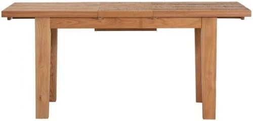 Vancouver Sawn Oak Extending Dining Table