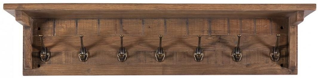 Vancouver Sawn Old Oak Coat Rack