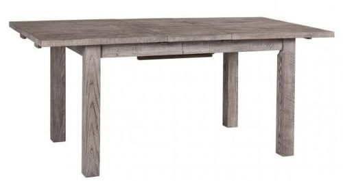 Vancouver Sawn Grey Washed Oak Extending Dining Table