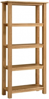 Vancouver Select Oak Bookcase - Tall