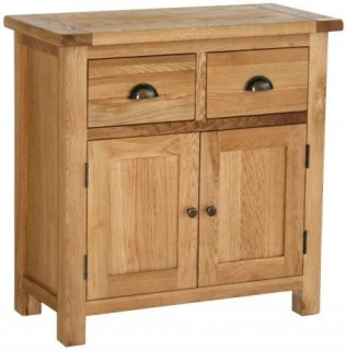 Vancouver Select Oak Buffet with 2 Door 2 Drawer