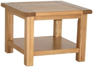 Vancouver Select Oak Coffee Table with Shelf - Small