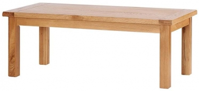 Vancouver Select Oak Large Coffee Table - Rectangular