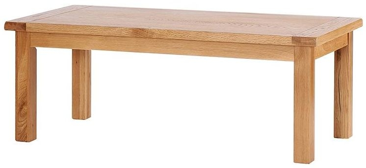 Vancouver Select Oak Rectangular Large Coffee Table