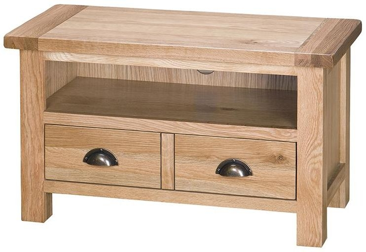 Vancouver Select Oak 2 Drawer TV Unit