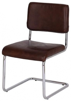 vintage leather office chair. Vintage Aviator One Seater Leather Desk Chair With Aluminium Office T