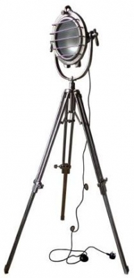 Vintage Industrial Lighting Chunky Tripod Spotlight