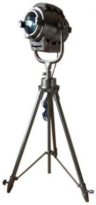 Vintage Industrial Lighting Skinny Tripod Spotlight