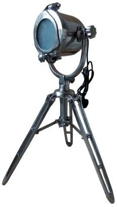 Vintage Industrial Lighting Dinky Tripod Spotlight