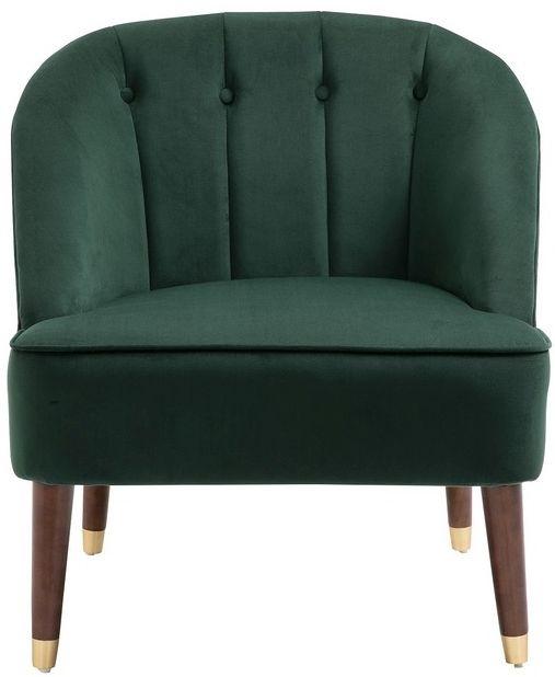 Birlea Alexa Green Fabric Tub Chair
