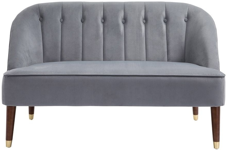 Birlea Alexa Grey Fabric 2 Seater Sofa