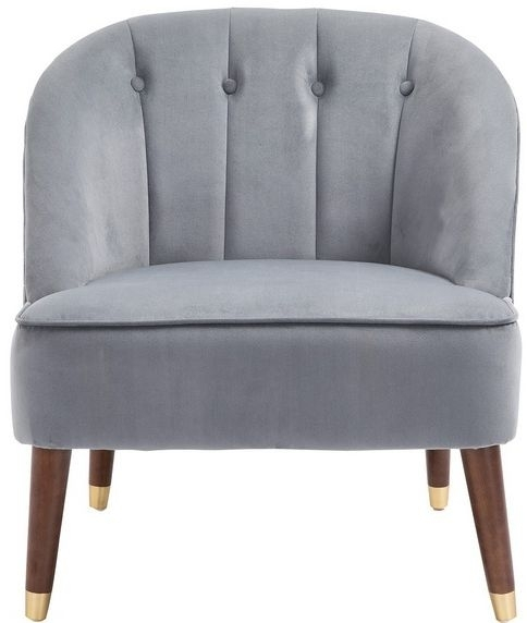 Birlea Alexa Grey Fabric Tub Chair