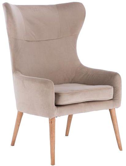 Birlea Beige Bow Armchair