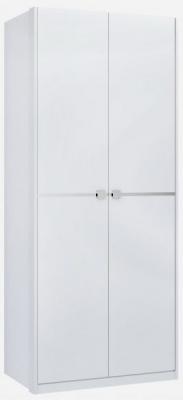 Birlea Aztec 2 Door White Wardrobe