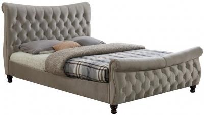 Birlea Copenhagen Warm Stone Fabric Bed
