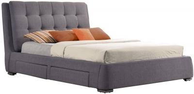 Birlea Mayfair Grey Fabric Bed