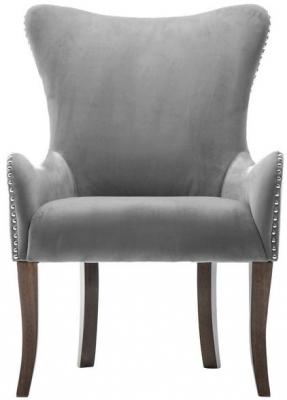 Birlea Ellis Grey Fabric Armchair