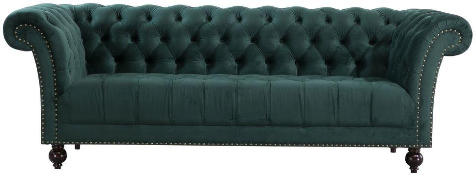 Birlea Chester Green Fabric 3 Seater Sofa