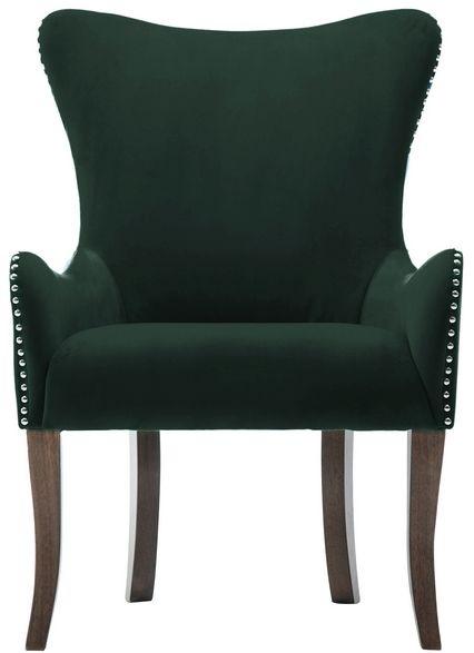 Birlea Ellis Green Fabric Armchair