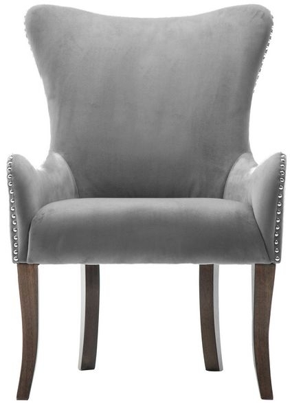 Birlea Ellis Grey Fabric Armchair