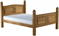 Birlea Corona Pine High Foot End Bed
