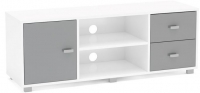 Birlea Covent TV Unit - White and Grey