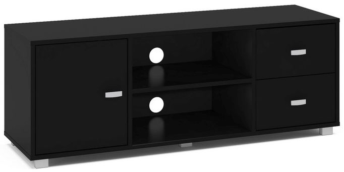Birlea Covent Black TV Unit