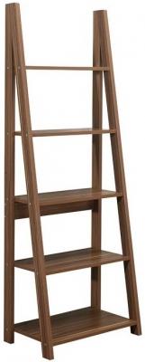 Birlea Dayton Walnut Ladder Bookcase