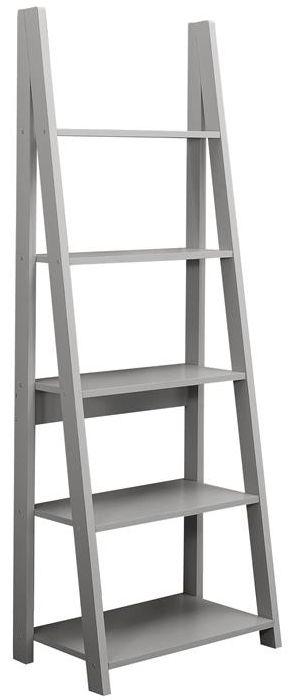 Birlea Dayton Grey Ladder Bookcase