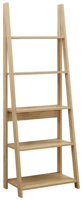 Birlea Dayton Oak Ladder Bookcase