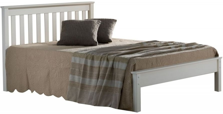 Birlea Denver Grey Painted Bed