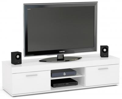 Birlea Edgeware White Medium TV Unit