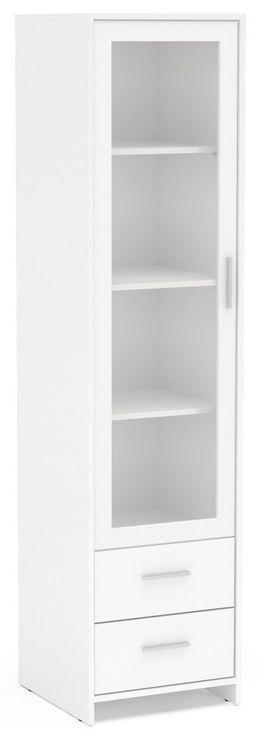 Birlea Edgeware White Display Cabinet