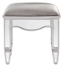 Birlea Elysee Mirrored Stool