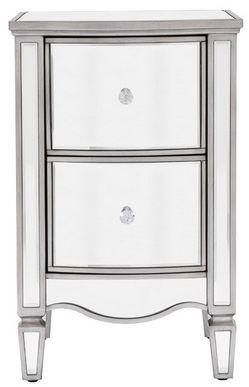Birlea Elysee Mirrored Bedside Cabinet