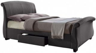 Birlea Barcelona Grey Fabric Bed