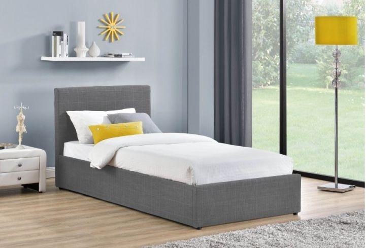 Birlea Berlin Grey Ottoman Fabric Bed