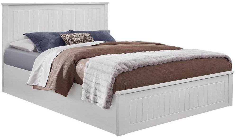Birlea Fairmont White Ottoman Bed