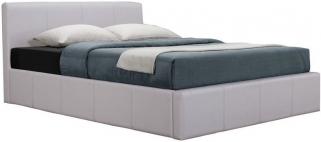Birlea Signature White Faux Leather Bed