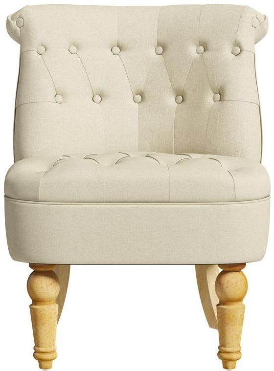 Birlea Grace Arran Beige Velvet Tub Chair