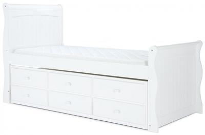 Birlea Verona White 3ft Cabin Bed