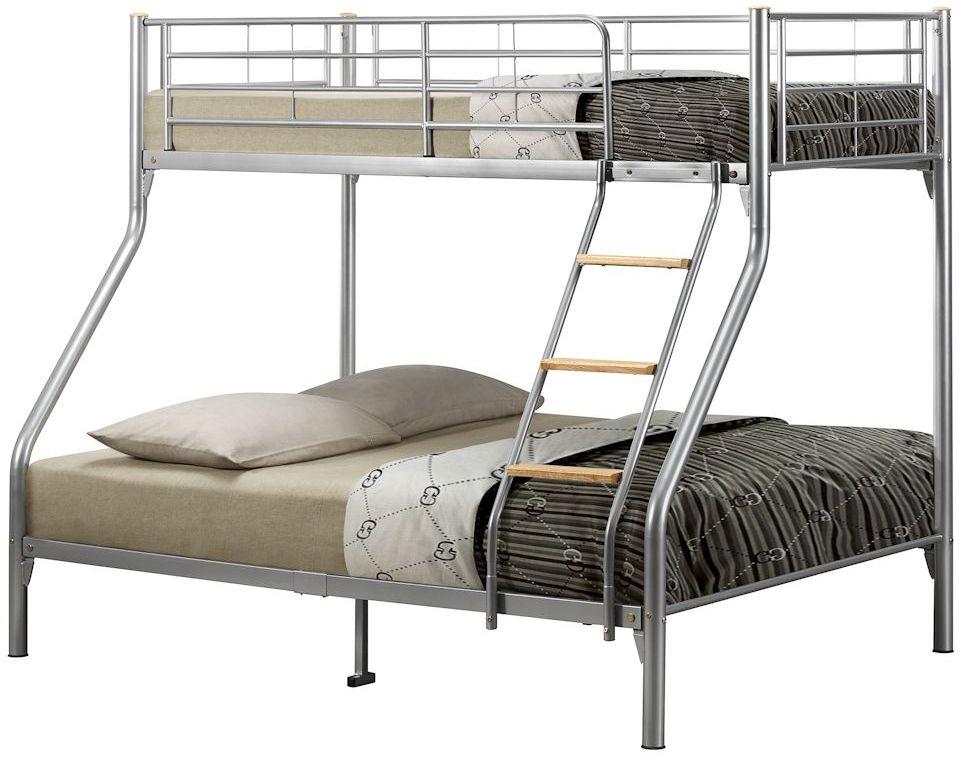 Birlea Nexus Silver Metal Bunk Bed