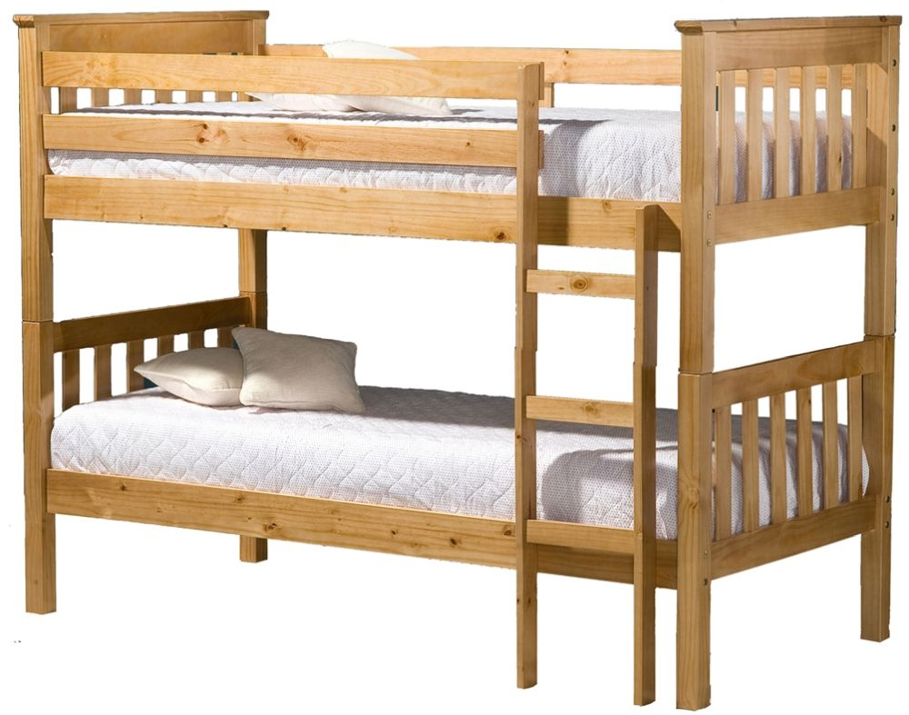 Birlea Portland Pine 3ft Bunk Bed
