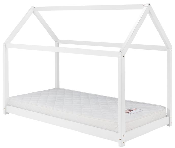 Birlea White 3ft House Bed