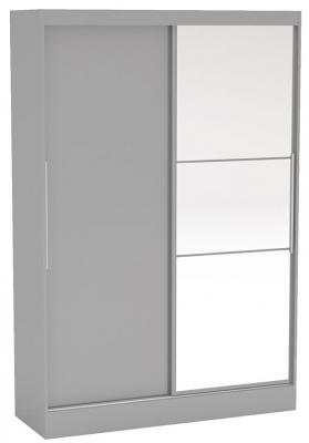 Birlea Lynx Grey 2 Door Sliding Mirror Wardrobe