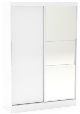 Birlea Lynx White 2 Door Sliding Mirror Wardrobe