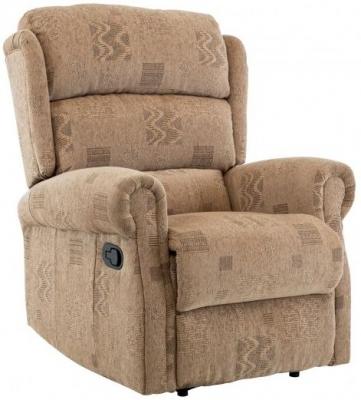Birlea Manhattan Wheat Fabric Recliner Chair