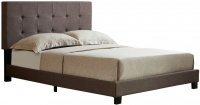 Birlea Rochelle Grey Fabric Bed